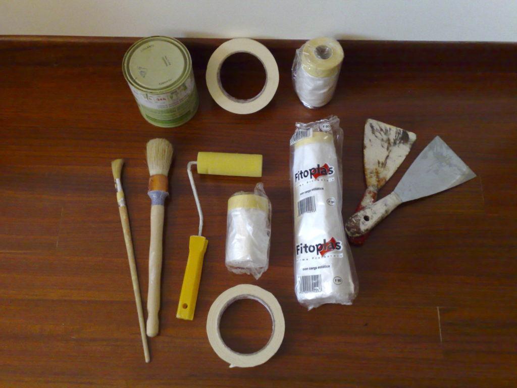 material de pintura y decoración
