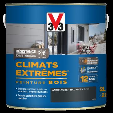 Pintura madera V 33 para climas extremos