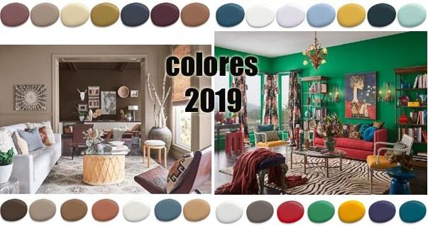 tendencia colores para 2019