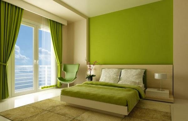 combinación colores verdes