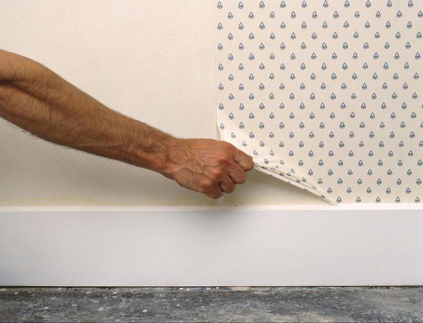 arrancar papel pintado