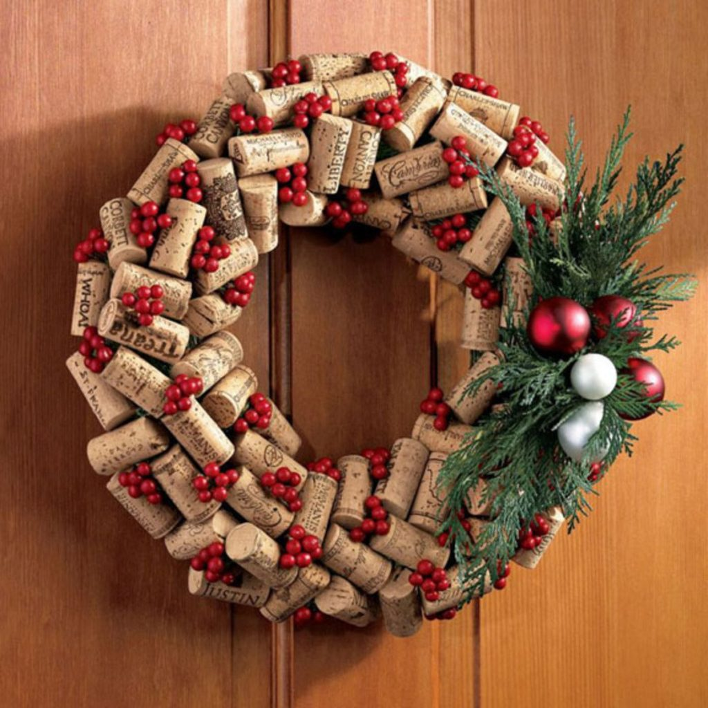 decoracion navidad, corona