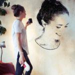 SprayPrinter pinta tú mismo dibujos y fotos en paredes