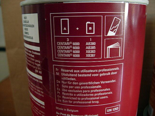 instrucciones bote de pintura