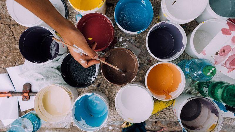 reutilizar pintura vieja
